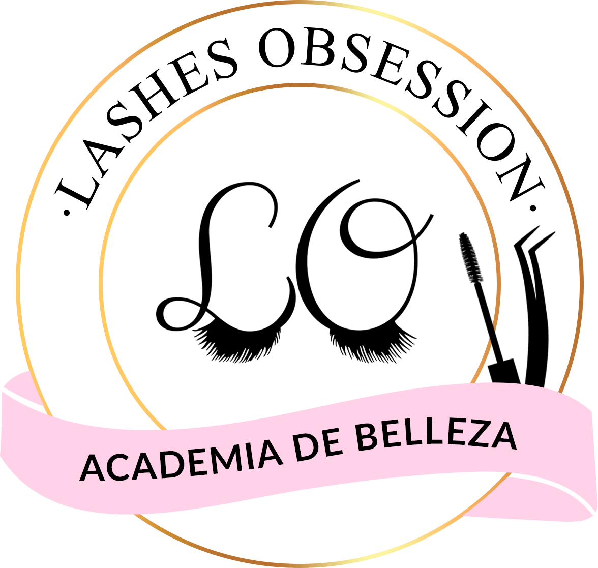 logo academia lashes obsession